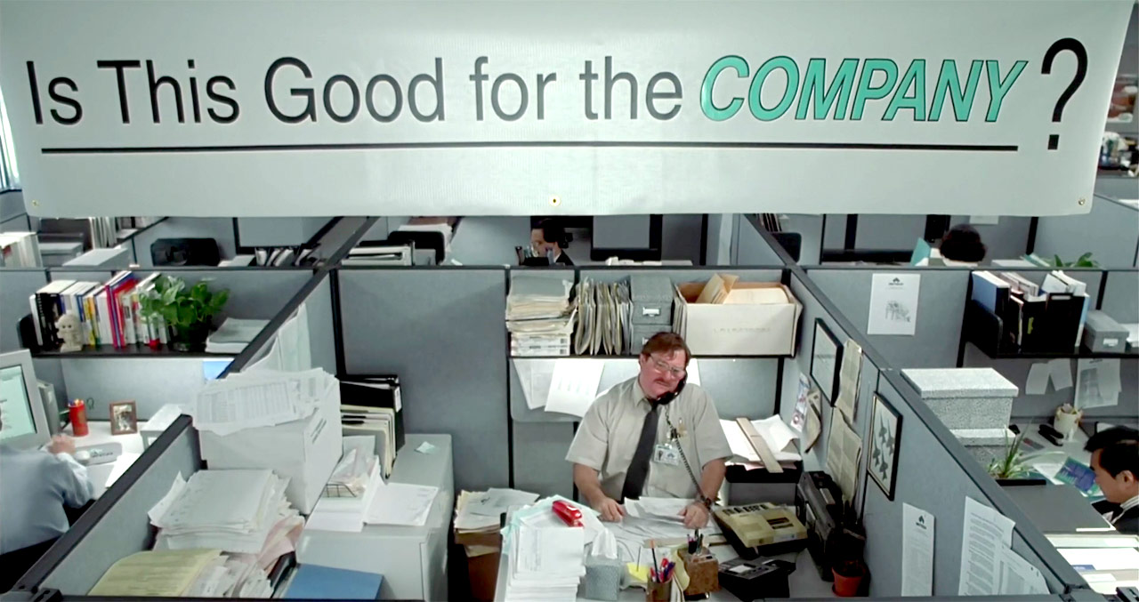 essay on movie office space Office space movie review essay in the movie office space office space illustrates the everyday lives of office workers who are confined to cubicles.